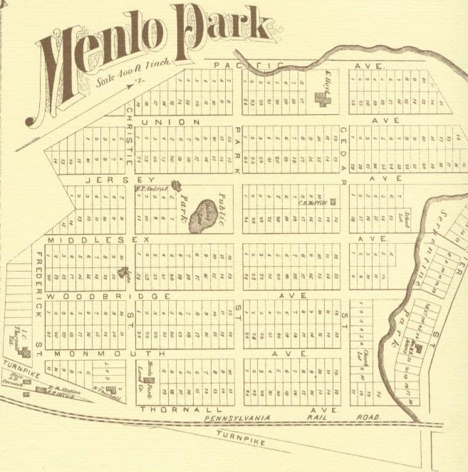 Menlo Park NJ - now and then - in the year 2000 and back in Edison\'s ...